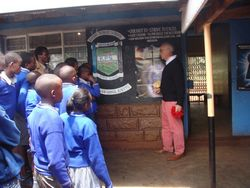 Donato from Italy on the volunteering in Kenya teaching program