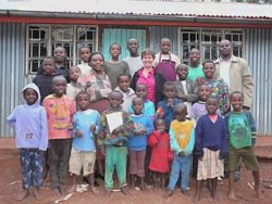 Photo courtesy of Tracey, a volunteer in Kenya at an orphanage.