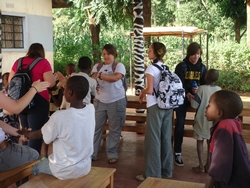 James Clark - volunteer Tanzania