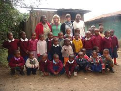 Kenya Volunteers Project 64