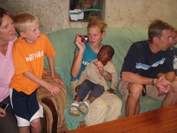 Susan and Tim Deforest - Family volunteering in Kenya