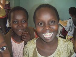 volunteer at a children's home in Kenya