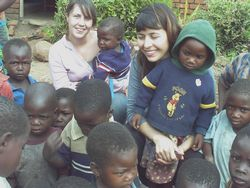 Volunteer in Malawi Photo - Natalia in Malawi
