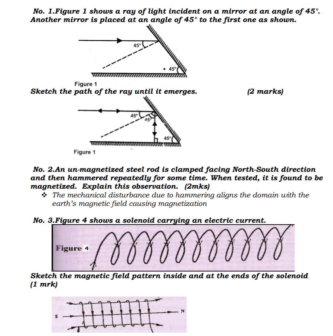 KCSE Past Papers 2016 Physics Paper 2 – Kenyan Digest
