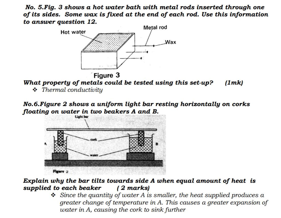 KCSE Past Papers 2016 Physics Paper 1 - KNEC KCSE Online