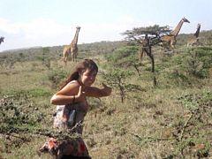 Kate in Masai