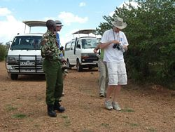 Volunteer's Safari - Volunteers on a Safari.