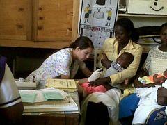 Valentina Immunizing Children