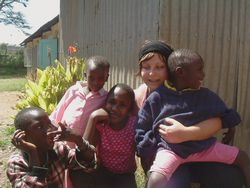 HIV Aids Orphans  in Africa - volunteer pictures
