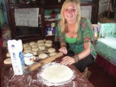 Cooking Chapatis Home Stay