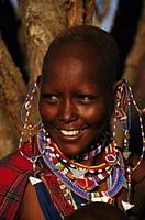 Masai Woman at Masai Mara Kenya